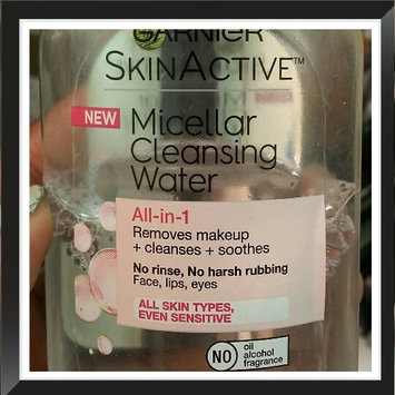 Garnier Skinactive Micellar Cleansing Water All-in-1 Makeup Remover & Cleanser 3 oz uploaded by monique m.