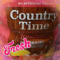 Country Time Strawberry Lemonade Sugar Sweetened Powdered Soft Drink Cannister uploaded by Bilan B.