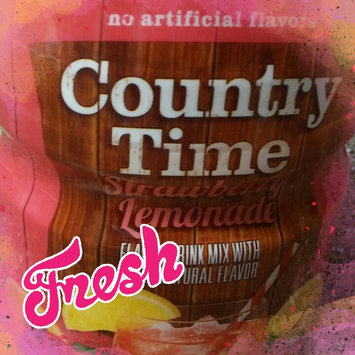 Photo of Country Time Strawberry Lemonade Sugar Sweetened Powdered Soft Drink Cannister uploaded by Bilan B.