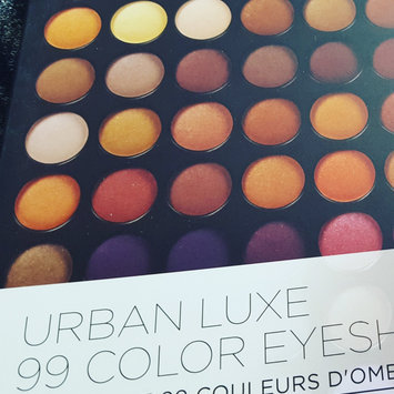 Photo of BH Cosmetics Urban Luxe - 99 Color Eyeshadow Palette uploaded by Lauren B.