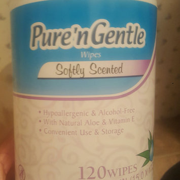 Photo of Pure 'n Gentle Softly Scented Wipes, 120 sheets uploaded by Keiondra J.