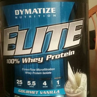 Dymatize Iso-100 100% Hydrolyzed Gourmet Vanilla Whey Protein Isolate uploaded by Arlette P.