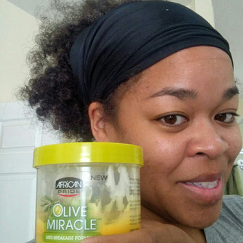 Photo of African Pride Olive Miracle Leave in Conditioner, 15 oz uploaded by Allison O.