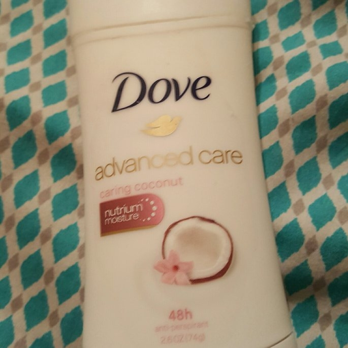 Dove Advanced Care Anti-Perspirant Deodorant, Caring Coconut, 2.6 oz uploaded by charlotte f.