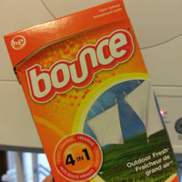 Bounce Fabric Softener Dryer Sheets Outdoor Fresh 60CT uploaded by Samantha D.