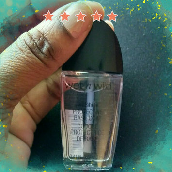 Photo of wet n wild Wild Shine Nail Color Base Coat uploaded by Antumn M.