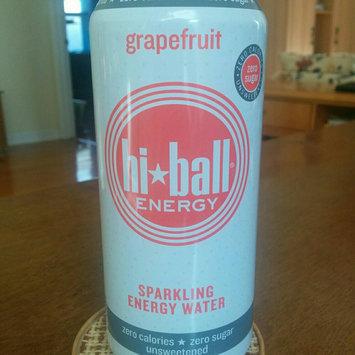 Photo of Hi Ball Energy Hi-Ball Energy Grapefruit Sparkling Energy Water, 16 fl oz, (Pack of 12) uploaded by Marlène G.