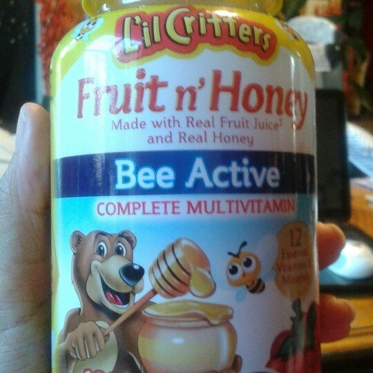 L'il Critters Fruit'n Honey Complete Multivitamin - 120ct uploaded by Princess C.