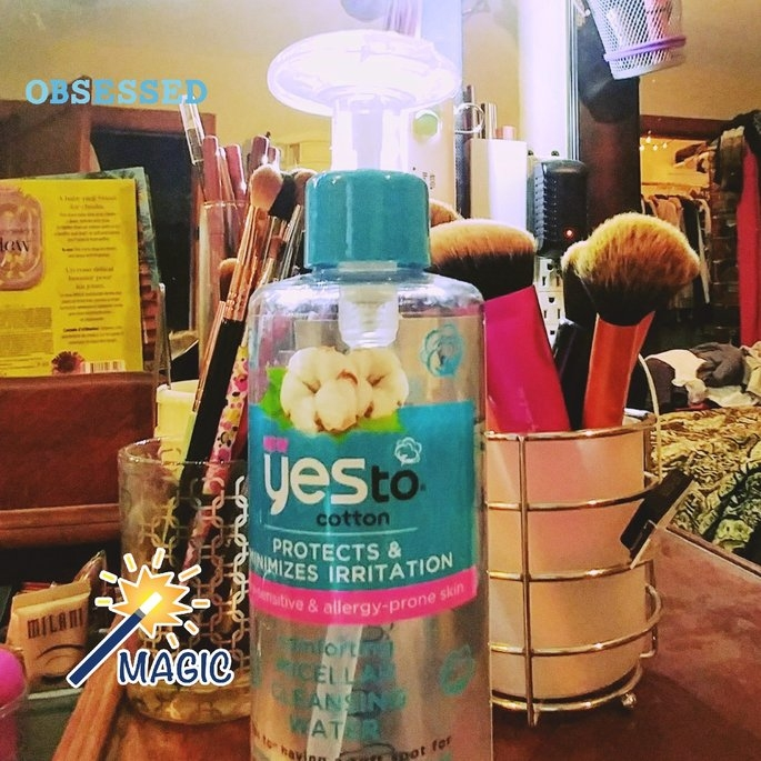 yes to cotton Comforting Micellar Cleansing Water uploaded by Chasity M.