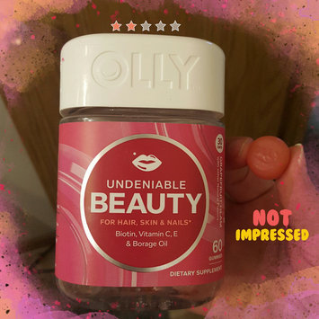 Olly Undeniable Beauty Grapefruit Glam Vitamin Gummies uploaded by Nicole L.