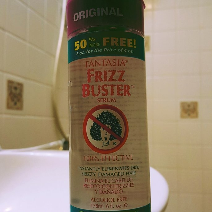 Fantasia Frizz Buster Serum 6 oz uploaded by Lizbeth G.