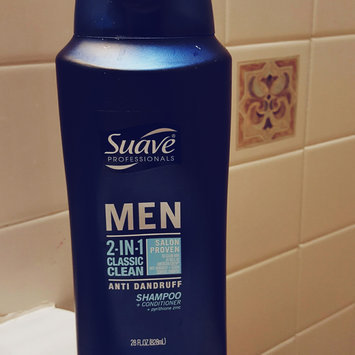 Photo of Suave Men 2-in-1 Anti Dandruff Shampoo + Conditioner - 28.0 fl oz uploaded by Lizbeth G.