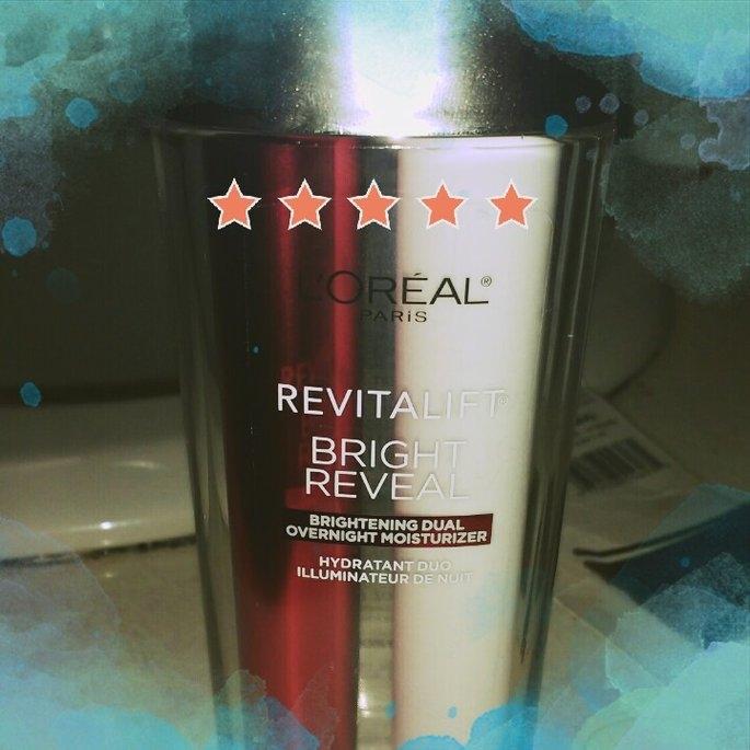 L'Oréal Paris Revitalift Bright Reveal Brightening Dual Overnight Moisturizer uploaded by Sarah S.
