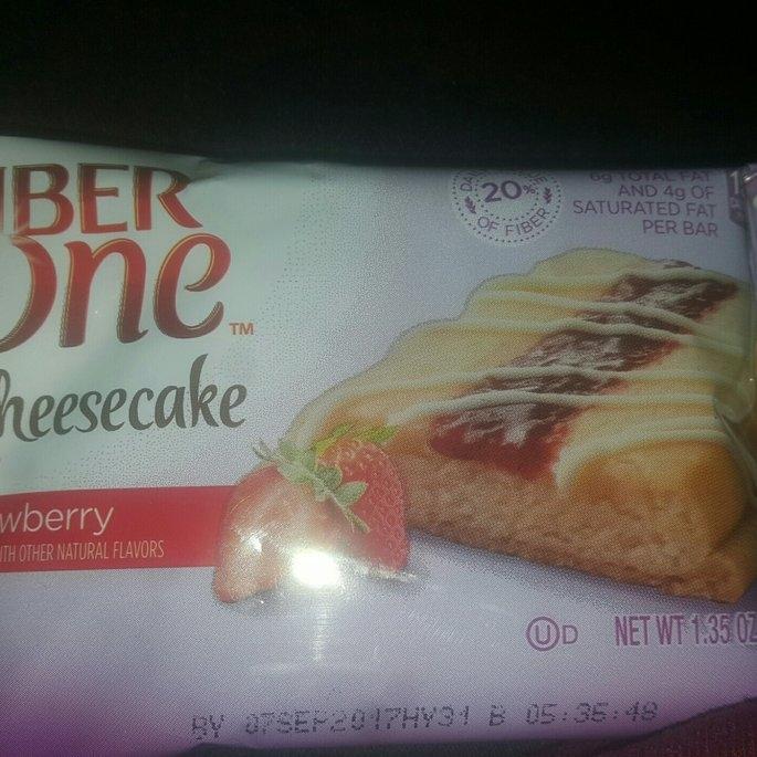 Fiber One Cheesecake Bar Strawberry uploaded by Keiondra J.