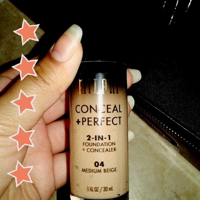 Milani Conceal + Perfect 2-in-1 Foundation + Concealer uploaded by Rubi L.
