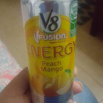 Photo of V8® V-Fusion + Energy Peach Mango Flavored Vegetable & Fruit Juice uploaded by Noelia M.