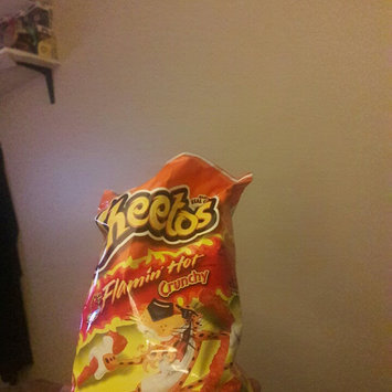Cheetos Flamin' Hot Crunchy Cheese Flavored Snacks uploaded by Lakesha E.