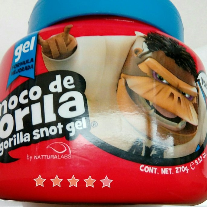 Moco De Gorilla Rockero Mega Gel uploaded by Charnita F.