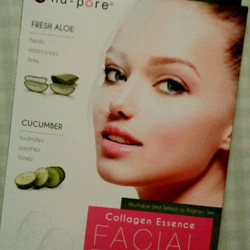 Nupore nu-pore Fresh Aloe & Cucumber Collagen Essence Mask 2 masks 1 Aloe And 1 Cucumber uploaded by Amayrani L.
