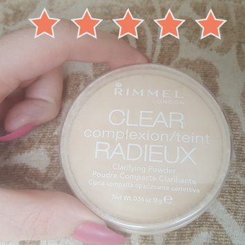 Photo of Rimmel London Clear Complexion Anti Shine Powder uploaded by Katrina H.