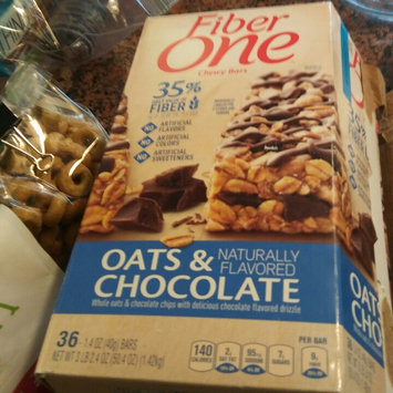 Fiber One Oats & Chocolate Chewy Bars uploaded by Leidi R.