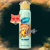 Secret Re-Fresh Body Spray, Brazilian Rainforest, 3.75 oz uploaded by Spontaneous W.