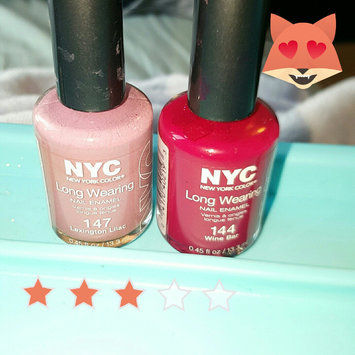 Photo of New York Color Long Wearing Nail Wine Bar 0.45 fl oz Reds uploaded by Sydney S.