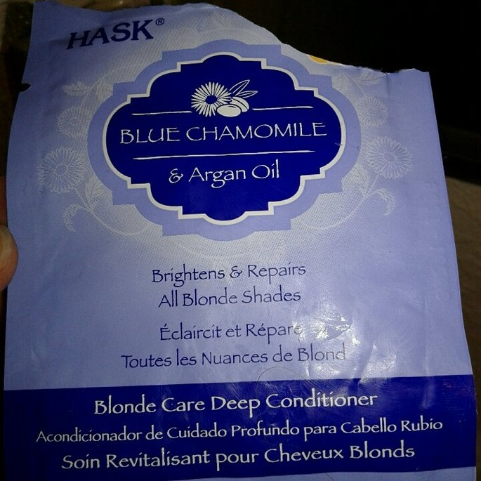 Hask Blonde Conditioner Blue Chamomile With Argan - 12 oz. uploaded by Raquel-Angelica O.