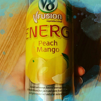 Photo of V8® V-Fusion + Energy Peach Mango Flavored Vegetable & Fruit Juice uploaded by Vilma A.