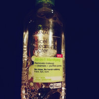 Garnier Skin Skinactive Micellar Cleansing Water All-In-1 Cleanser and Waterproof Makeup Remover uploaded by Nicole C.