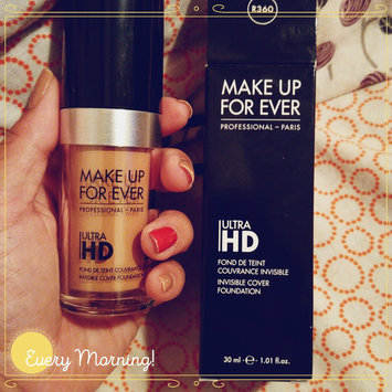 MAKE UP FOR EVER Ultra HD Foundation uploaded by Alisha K.