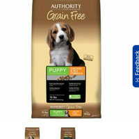 AuthorityA Grain Free Puppy Food uploaded by Mackenzie W.