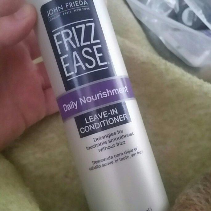 John Frieda Frizz-Ease Daily Nourishment Leave-In Conditioning Spray uploaded by Mackenzie W.