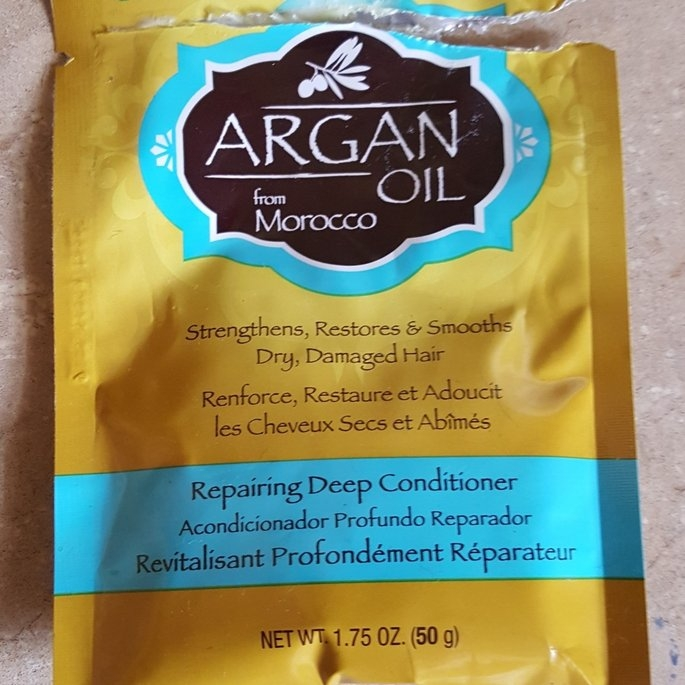 Hask Argan Oil Intense Deep Conditioning Hair Treatment uploaded by Heather L.