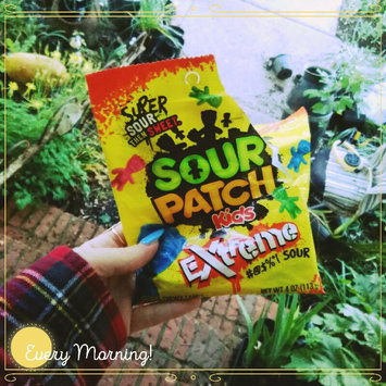 Sour Patch Bags Soft & Chewy Sour Then Sweet Extreme Candy uploaded by Jordon C.