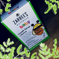 Zarbee's Naturals Baby Grape Cough Syrup + Mucus Reducer - 2.0 oz uploaded by keren a.