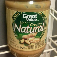Great Value No Stir Creamy Natural Peanut Butter Spread, 26.5 oz uploaded by Leslie S.