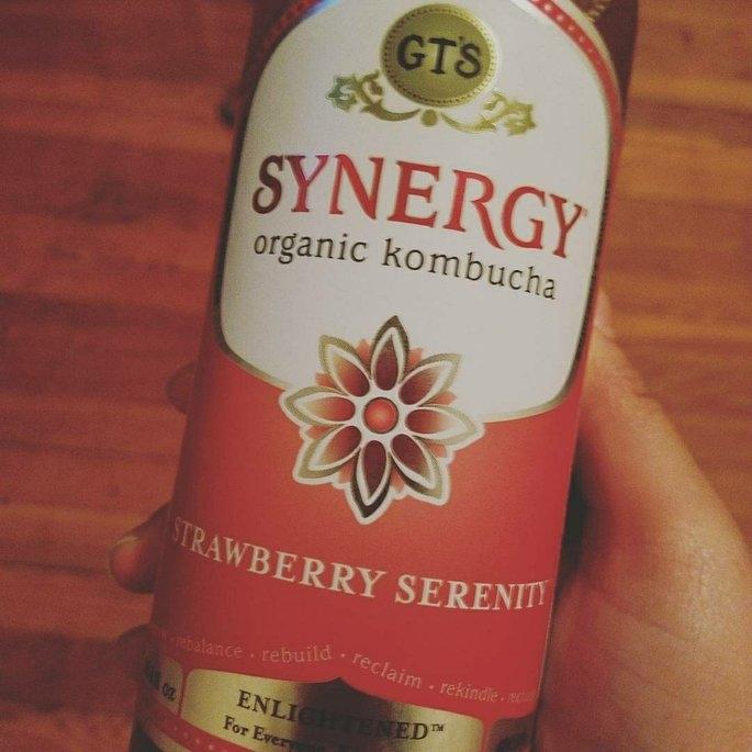 GT's Raw Organic Kombucha Strawberry Serenity uploaded by Belania S.