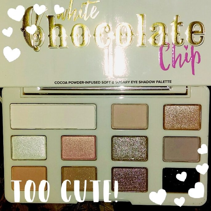 Too Faced White Chocolate Chip Eye Shadow Palette uploaded by Brookelynne T.