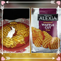 Alexia Seasoned Waffle Cut Fries  uploaded by Stephanie C.