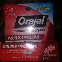 Orajel Toothache Pain Relief Gel, 0.125 oz uploaded by Taysha J.