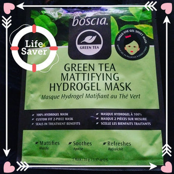 Photo of boscia Green Tea Mattifying Hydrogel Mask uploaded by Nancy V.