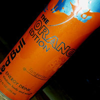 Red Bull® Orange Edition Energy Drink uploaded by keren a.