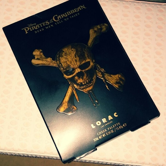 Disney's Pirates of the Caribbean Cheek Palette uploaded by Brandi A.