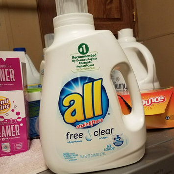 Photo of all free clear Laundry Detergent uploaded by Kayla G.