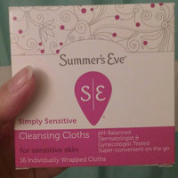 Sunbeam Summer's Eve Flushable Feminine Cleaning Cloths uploaded by Arlette P.