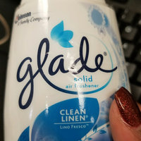 Glade Clean Linen Solid Air Freshener uploaded by Tiffany C.