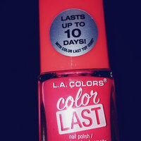 L.A. Colors Color Last Nail Polish, 0.5 fl oz uploaded by Samantha B.