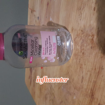 Garnier Skinactive Micellar Cleansing Water All-in-1 Makeup Remover & Cleanser 3 oz uploaded by alissa h.