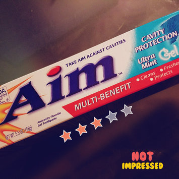 Photo of Aim™ Multi-Benefit Cavity Protection Ultra Mint Gel Toothpaste 5.5 oz. Box uploaded by OnDeane J.